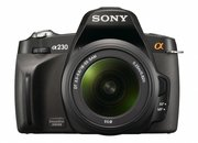 Sony Alpha A230 DSLR camera   - photo 3