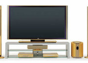 LG launch gold plated 71PY10 71 inch plasma TV - photo 1