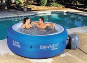 Lay-z-Spa offers portability with its inflatable hot tub - photo 1