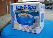 Lay-z-Spa offers portability with its inflatable hot tub - photo 2