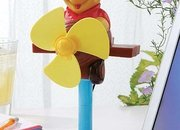 Silly Friday afternoon gadgets ... Winnie the Pooh USB fan, wall-climbing Humvee, and more - photo 2