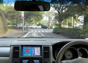 Nissan tests intelligent transportation system - photo 1