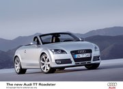 Audi unveils the latest TT Roadster - photo 1