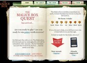 WEBSITE OF THE DAY - maliceboxquest.com - photo 1
