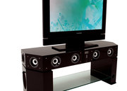 Evesham's Sound Stage X1 incorporates speakers into a TV stand - photo 2