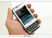 Mio shows new A702 PDA-Phone at Computex  - photo 2