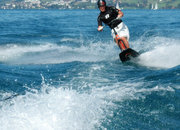 Bikeboard Water - a wakeboard with handlebars - photo 3