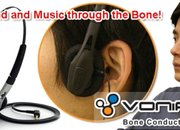 "Thanko's ""ears-free"" bone conduction headphones  - photo 2"