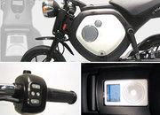 Yamaha launches glow-in-the-dark electric scooter with iPod dock - photo 3