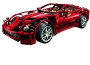 LEGO Racers celebrates 60 years of Ferrari with 599 GTB Fiorano  - photo 2