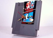 Super Mario / Duck Hunt NES game cartridge clock  - photo 1