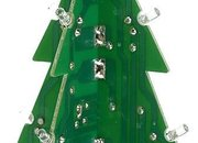 Motherboard Christmas tree with LED lights  - photo 1