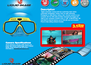Swimming goggles get digital camera - photo 2