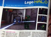 Lego Halo being built now - photo 2