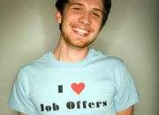 CV tee for the unemployed  - photo 1