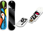 Burton offers snowboard-shaped flash drives  - photo 2