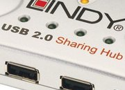 Lindy USB four-port sharing hub - photo 1