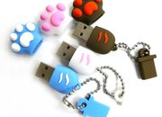 Cat paw-shaped flash drive launches  - photo 3