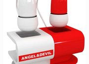 Angel and devil headphones launch - photo 1
