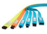 LaCie launches colour-coded Flat Cables - photo 2