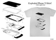 Exploded phone tee launches  - photo 2