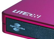 Lite-On DVD writer available in red and blue  - photo 1