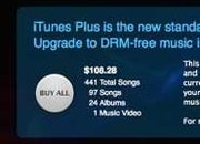 iTunes Plus upgrades offered on track by track basis - photo 1