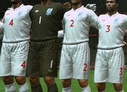 Brand new England kit debuts on PES 2009 - photo 1
