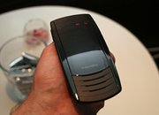 BlackBerry Bluetooth Visor handsfree kit mauled - photo 4