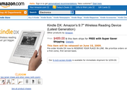 Amazon Kindle DX availability dated - photo 2