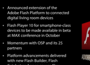 Adobe: Flash support to smartphones this year - photo 1