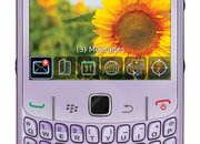 Carphone details BlackBerry Curve 8520 in violet - photo 5