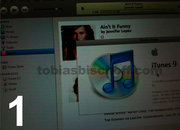 iTunes 9 screenshots surface. We call fake - photo 2