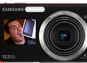 Samsung ST550 and ST500 cameras add second LCD screen on front - photo 3