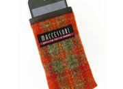 Maccessori Harris Tweed iPhone pouch available now - photo 4