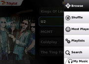 BlackBerry music app unveiled by 7Digital - photo 2