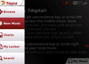 BlackBerry music app unveiled by 7Digital - photo 5