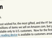 International Kindle will cost £217 to import  - photo 2