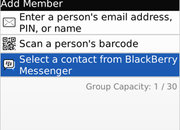 BlackBerry Messenger 5 released - photo 3