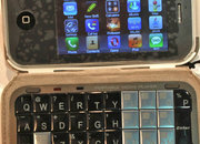 iPhone clone gets keyboard in case - photo 1
