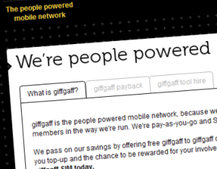 VIDEO: GiffGaff phone network goes live