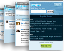 Twitter refreshes its mobile site