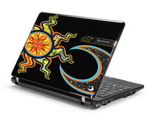 Packard Bell's Valentino Rossi netbook pictured