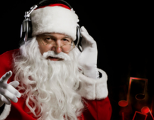 Deck your halls with Christmas music