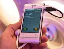 LG's new GT540 Android phone hands-on