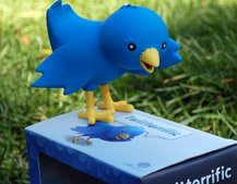 "Twitterrific launches ""Ollie"" bird-shaped collectible figurine"