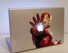 Iron Man MacBook sticker available