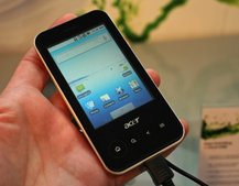 Acer beTouch E400 hands-on