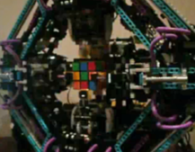 VIDEO: Lego robot solves any Rubik's Cube in 12 seconds