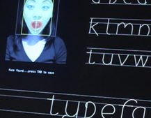 Typeface generates a font from your face